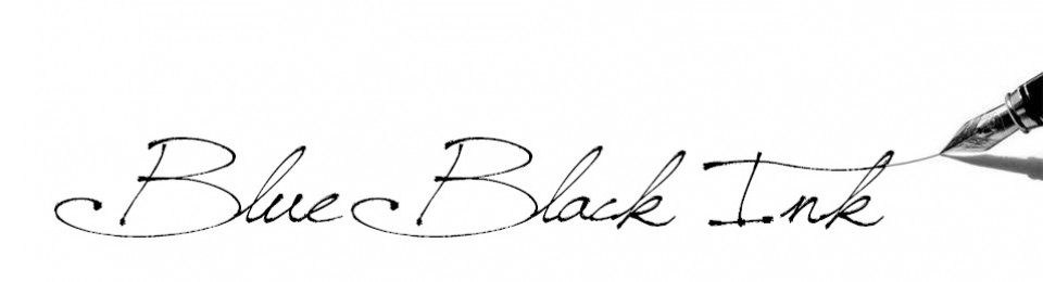 Blue Black Ink