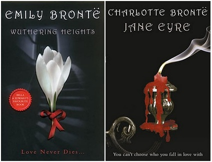 UK Twilight Inspired Classics Covers Wuthering Heights Jane Eyre Emily Charlotte Bronte