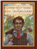 Trina Schart Hyman Mark Twain Connecticut Yankee in King Arthur's Court Cover