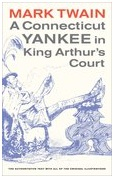 Mark Twain Library Connecticut Yankee in King Arthur's Court Cover Classics